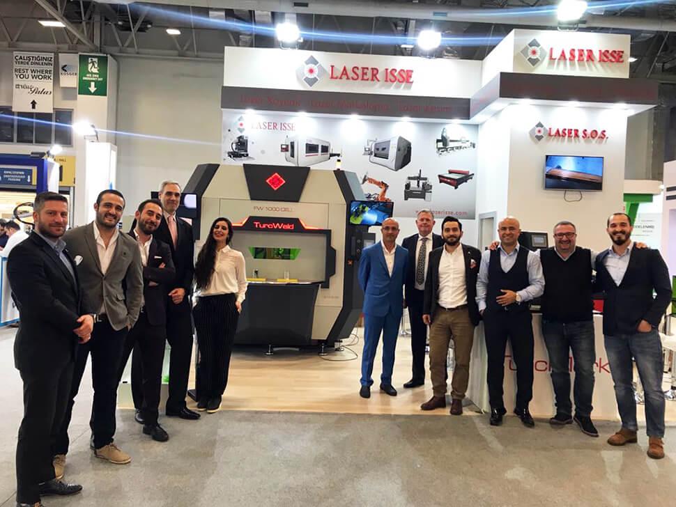 Laser Isse win eurasia 2018