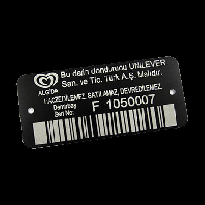 label marking 01